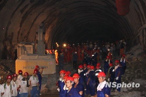 Great Tunnel of China nearing completion